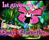 """1ST GIVEAWAY - FANTASY PINKY BUTTERFLY (FEB)"""