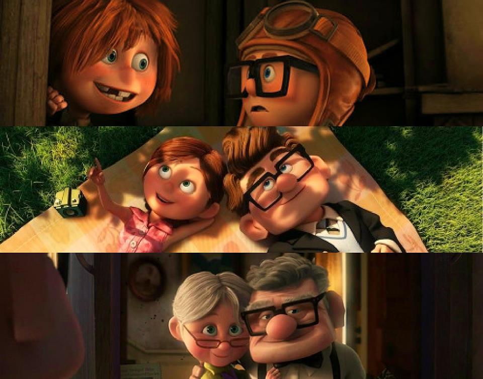 Up movie love