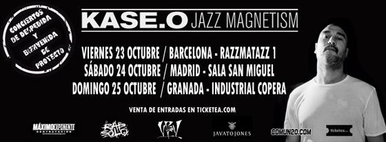 Gira Kase.O Jazz Magnetism 2015