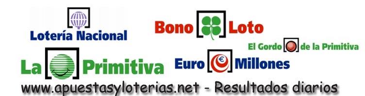 Apuestas y loterías - Información y resultados de los sorteos