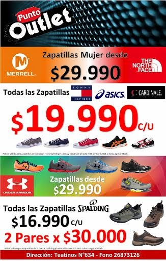 OFERTAS ABRIL PUNTO OUTLET