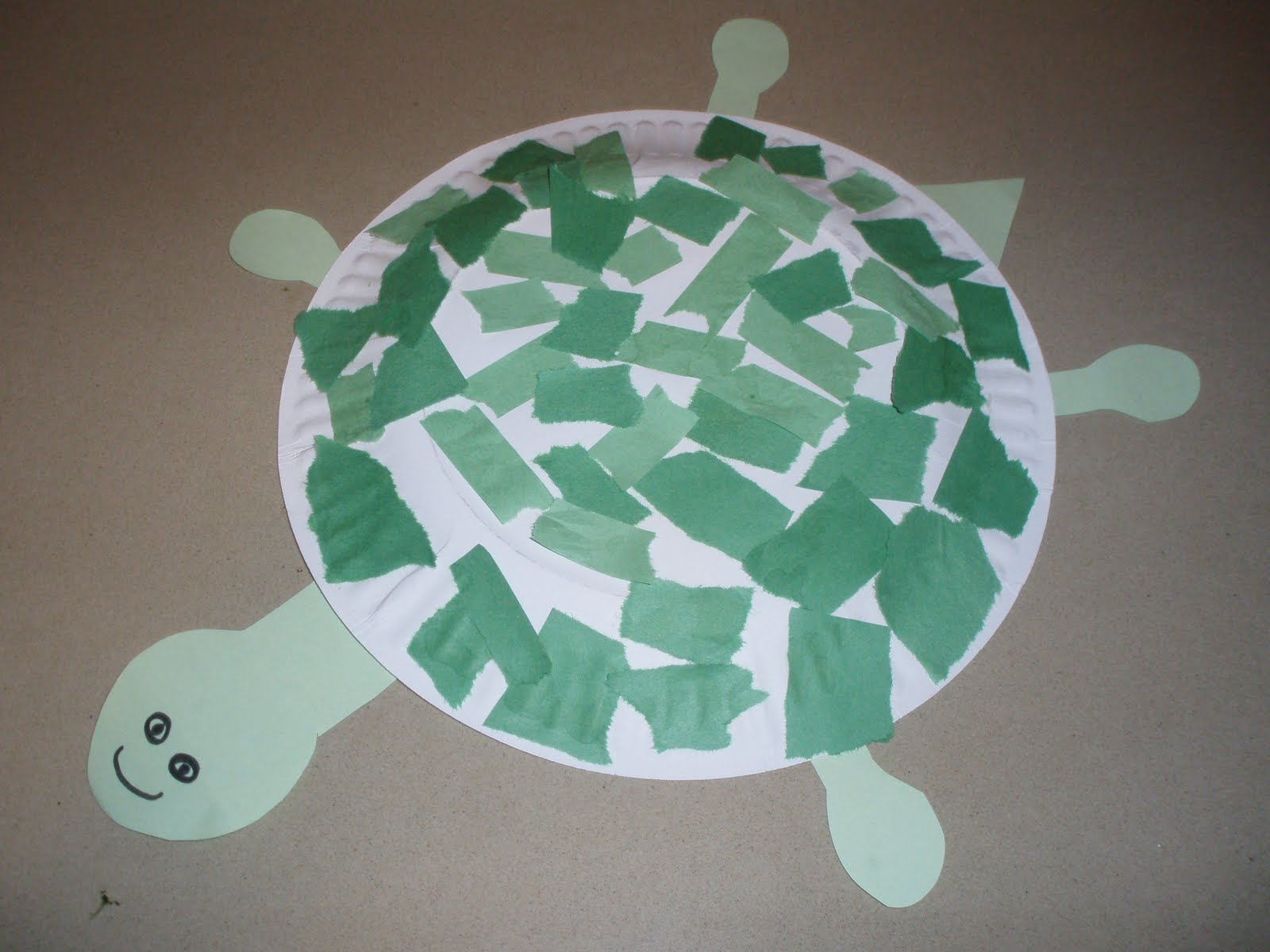 Paper Plate Turtle Craft ... & Paper Crafts: Paper Plate Turtle Craft