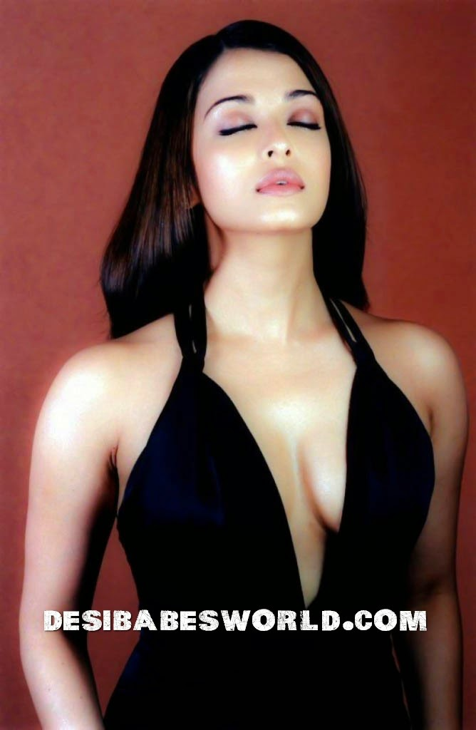 aishwarya rai boobs black