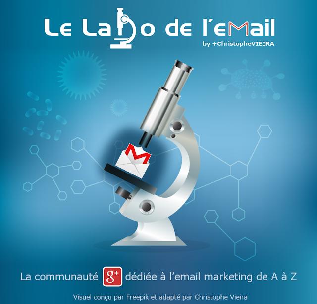Labo de l'email : communaute google plus dediée à l'email marketing, la newsletter, l'emailing par christophe vieira