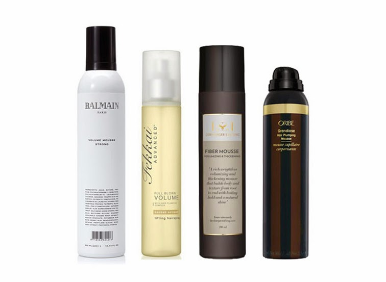 Hair care products Balmain Fekkai Lernberger Oribe mousse