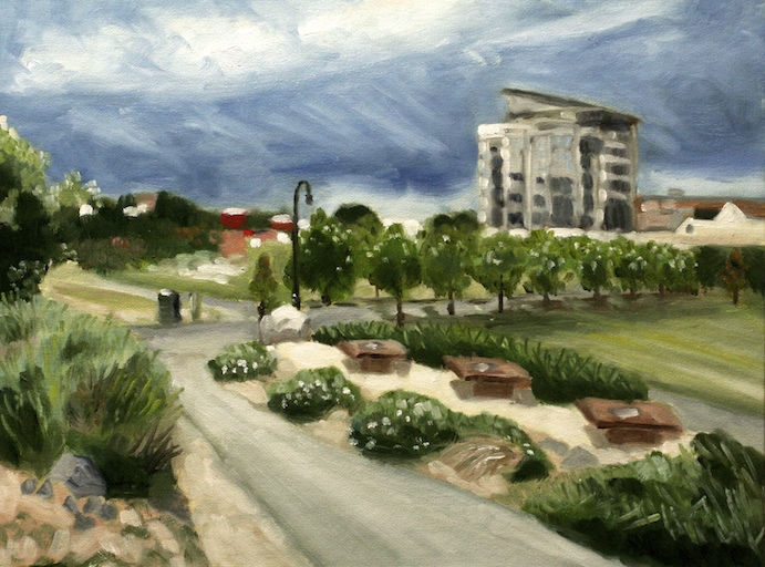 Hiro Plein Air Oil Painting