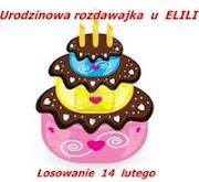 Szczęśliwa dla mnie Rozdawajka u Elili