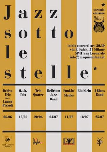 rassegne estive di jazz all'aperto a milano