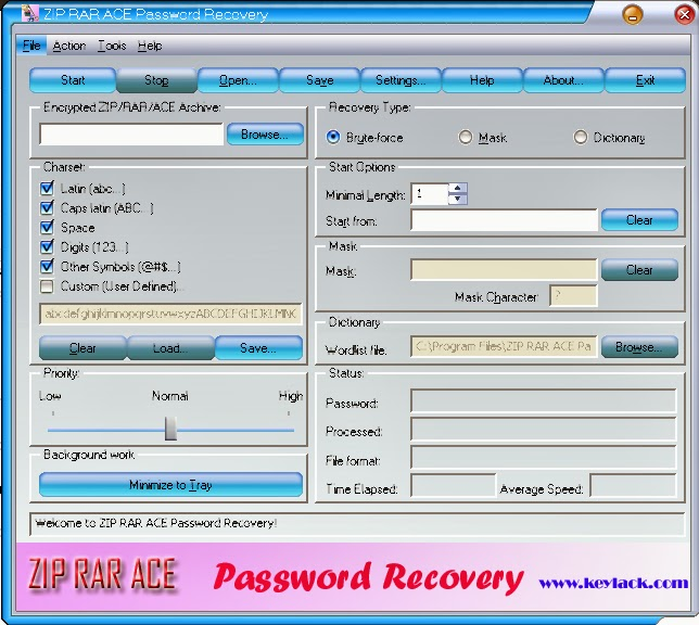 how to recover rar file password fast