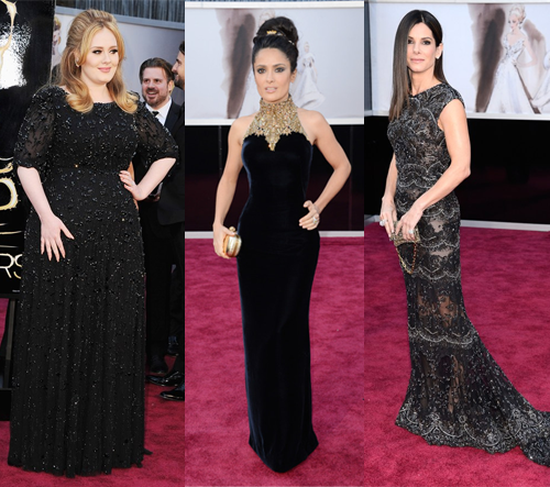 Style Winners At The Oscars 2013: The Dark