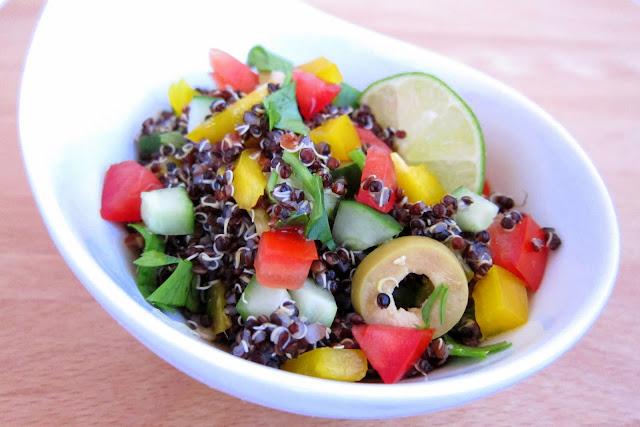pressure cooker quinoa salad