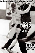 NUEVOS CURSOS DE TANGO ARGENTINO INICIACIÓN EN BSD MÁLAGA CENTRO.