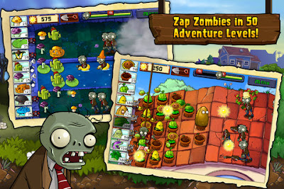 Games Iphone Plants vs Zombies