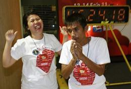 Thailand Catat Rekor Ciuman Terlama 46 Jam