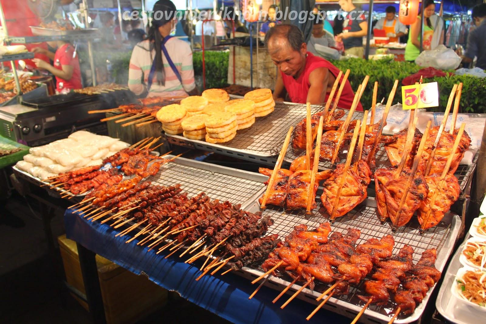 místní trh s jídlem // local food market
