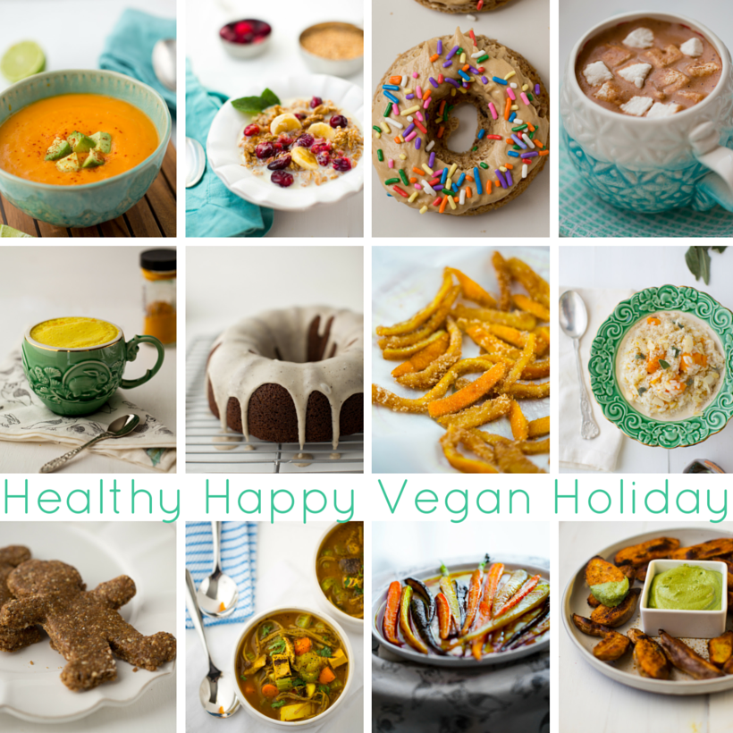 holiday recipes from healthy happy vegan kitchen