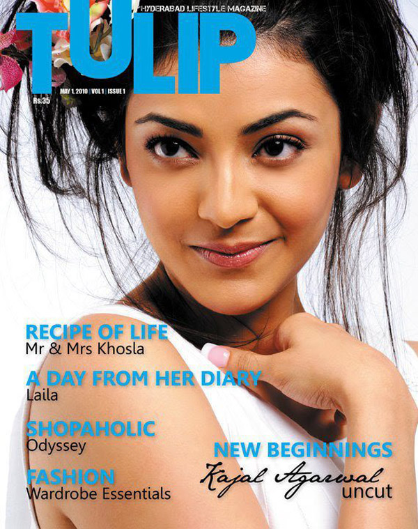 Can look Kajal agarwal cover magazine removed