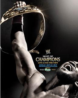 kofi kingston en el poster oficial de noche de campeones, night of champions 2013 con kofi kingston como protagonista principal