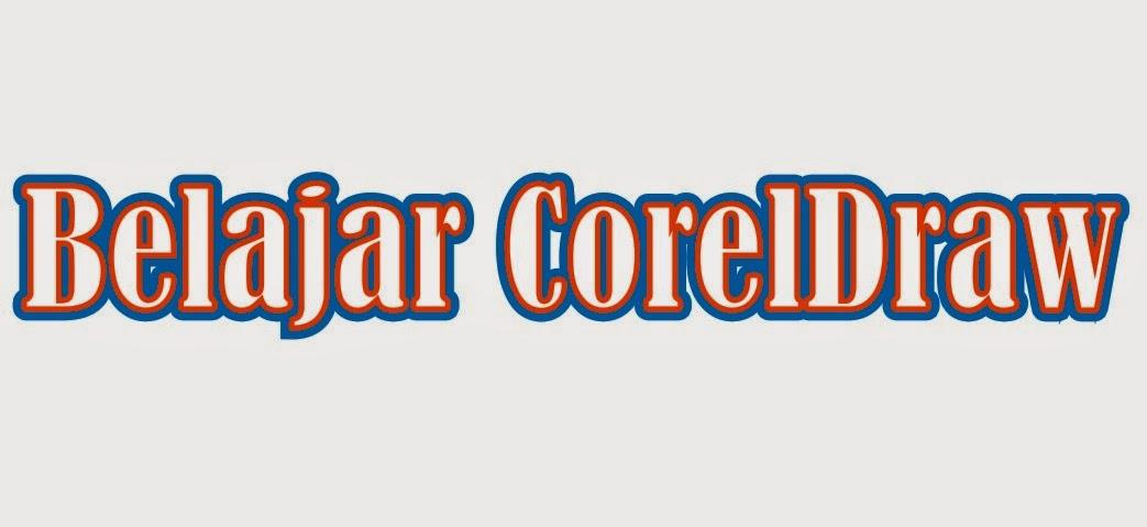 Membuat Tulisan Dobel di CorelDraw X4 - Tutorial Photoshop