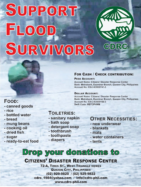 Manila Flood August 2012