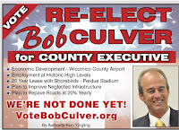 Re-Elect Bob Culver County Executive