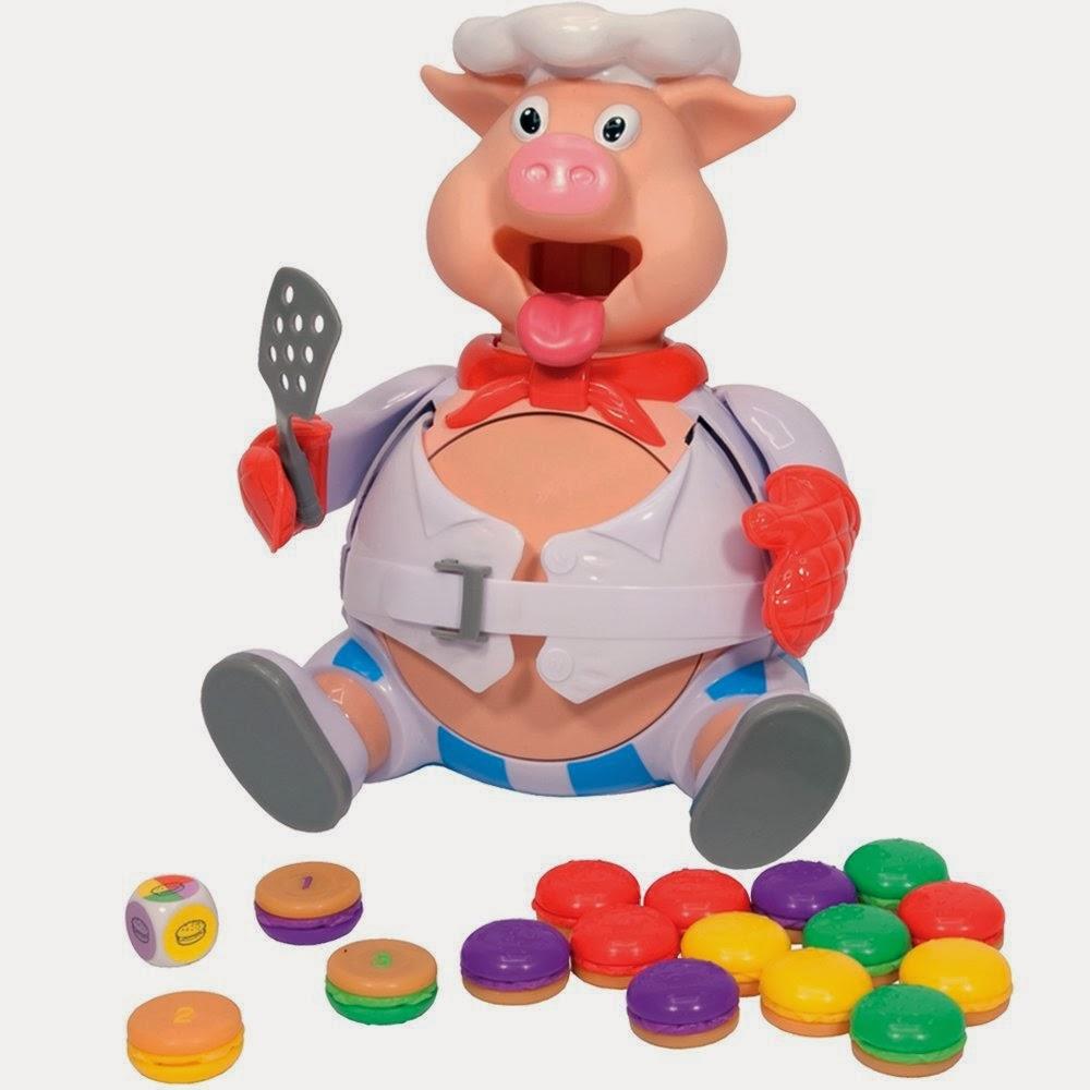 Otto il Maialotto Che Fa il Botto cuoco gioco da tavolo Hasbro Natale 2013