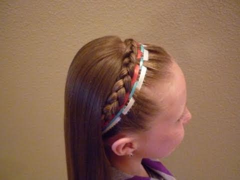french braid braided hair styles french braid headband