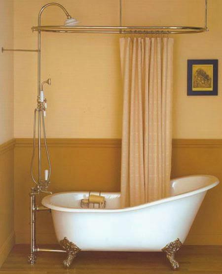 Curtain Ideas Hort Shower Curtain Liner Clawfoot Tub
