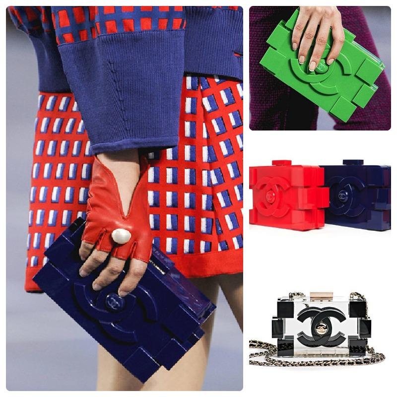 Chanel Lego Clutch SS13