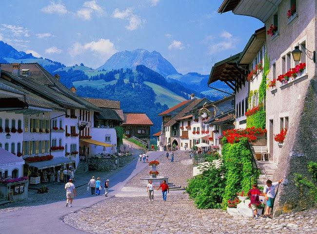 Gruyeres Suiza