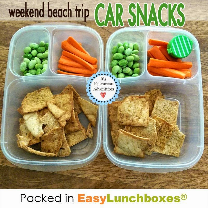 My Epicurean Adventures: Weekend Beach Trip Snacks @Easylunchboxes