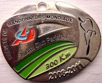 300 km medal