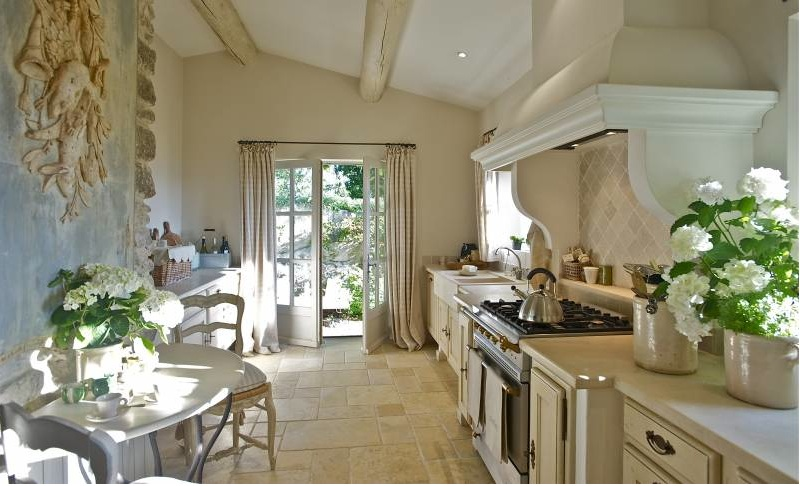 French country style kitchens - French country kitchens ...