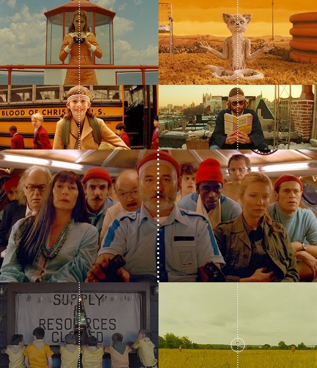 supercut of Wes Anderson