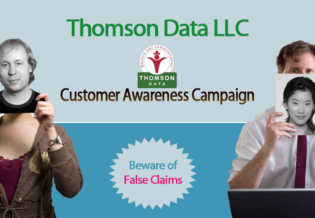 Fraud and Customer Awareness Campaign - Thomson Data LLC