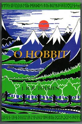 Capa do livro O Hobbit, de J.R.R.Tolkien