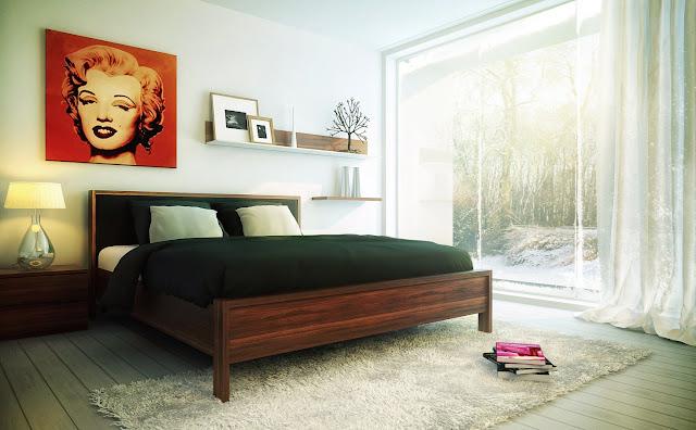 Kamar Tidur Rumah Minimalis Modern