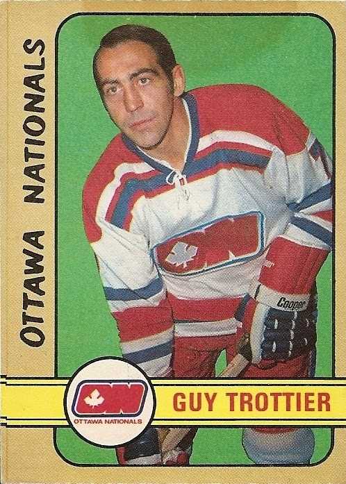guy trottier ottawa nationals 1972-73 o-pee-chee