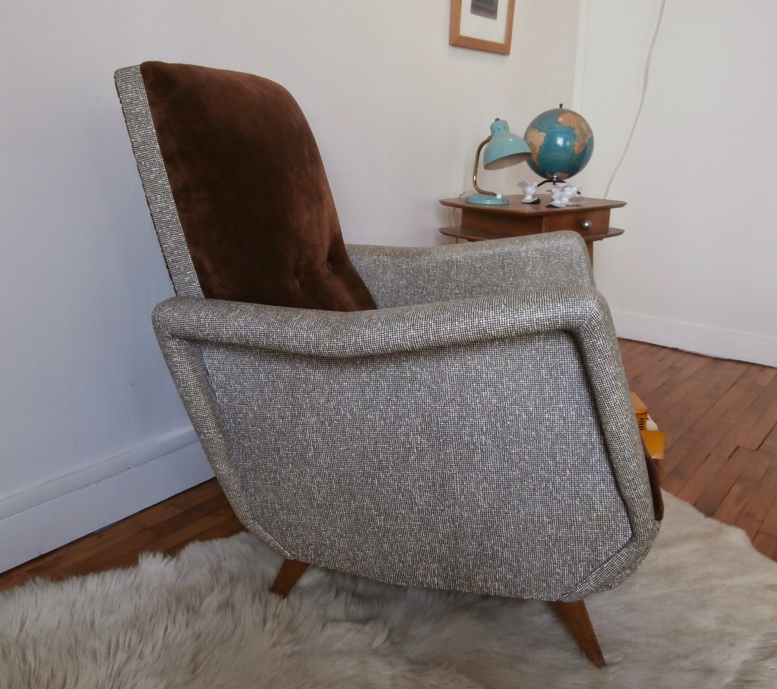 Dur e de vie ind termin e fauteuil ann es 50 design italien - Fauteuil design italien ...