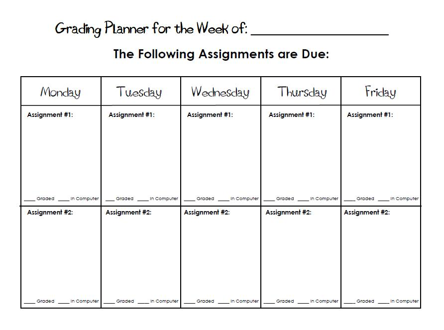 Poster rubric template