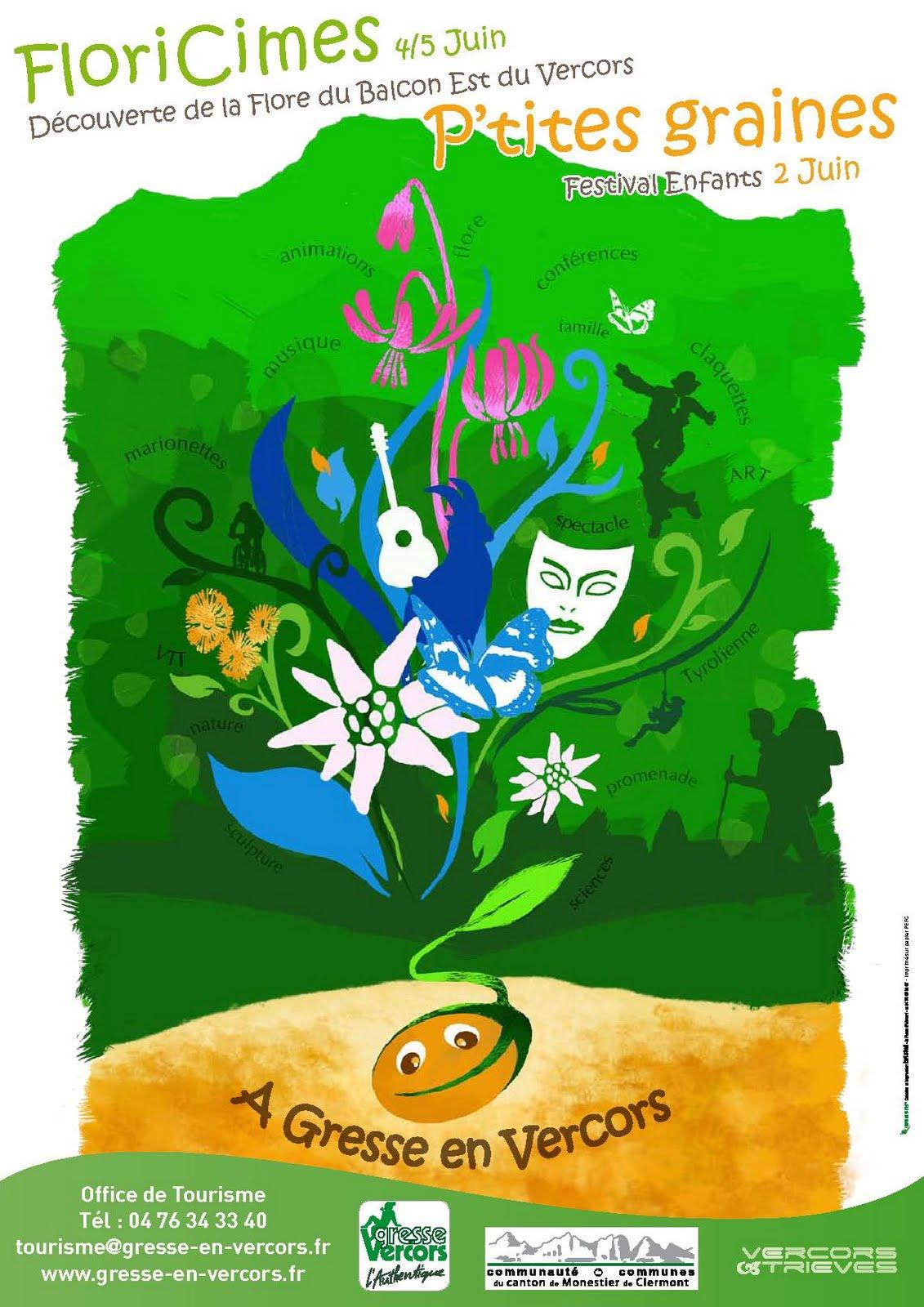 M mes grenoble festival p 39 tites graines gresse en vercors - Office de tourisme de gresse en vercors ...