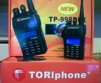 Sewa HT Toriphone murah Bandung, sewa handy talky toriphone bandung
