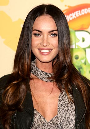 megan fox hair colour. megan fox hair