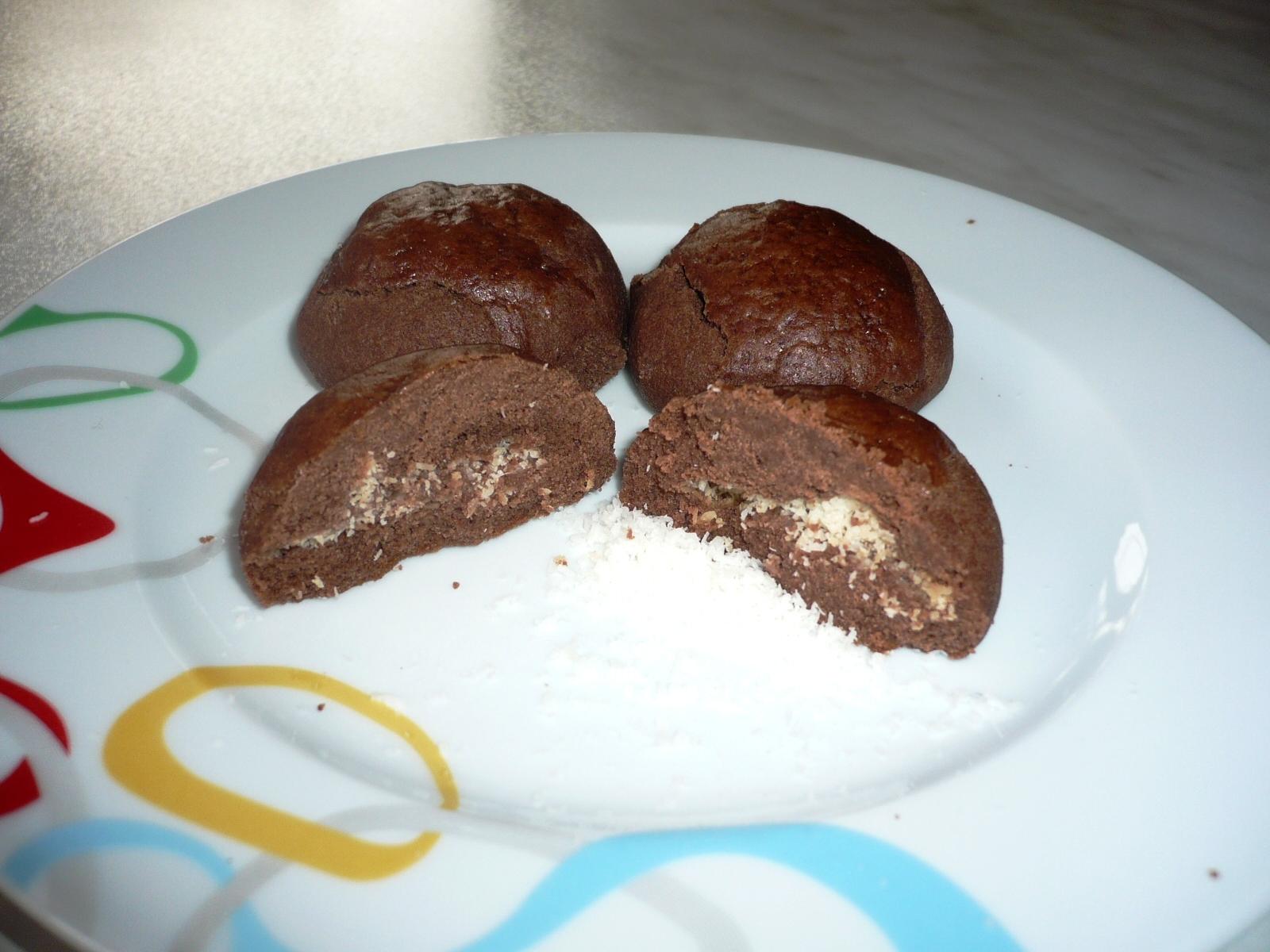 Coco Star Kurabiye Tarifi – Hindistan Cevizi Dolgulu Kakaolu Kurabiye