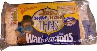 Warburtons sandwich thins half & half