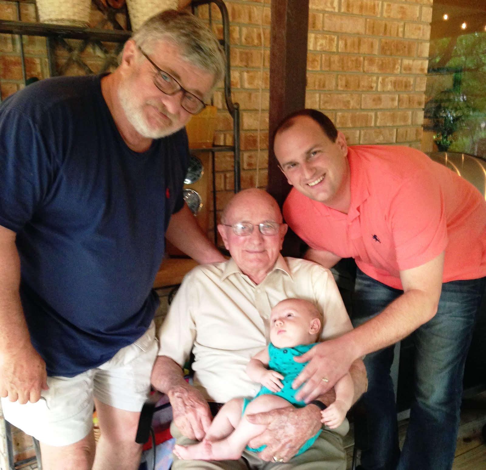 Four Generations of McBride Men