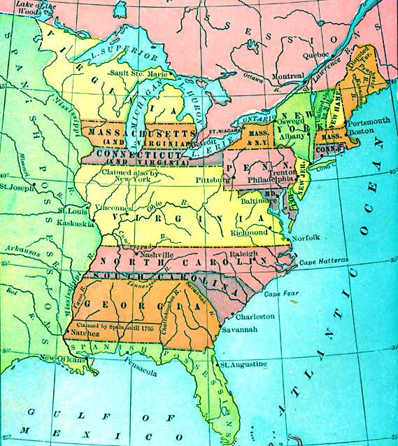 Mr Gigliottis United States History Social Studies Parma - Map of us east of mississippi river