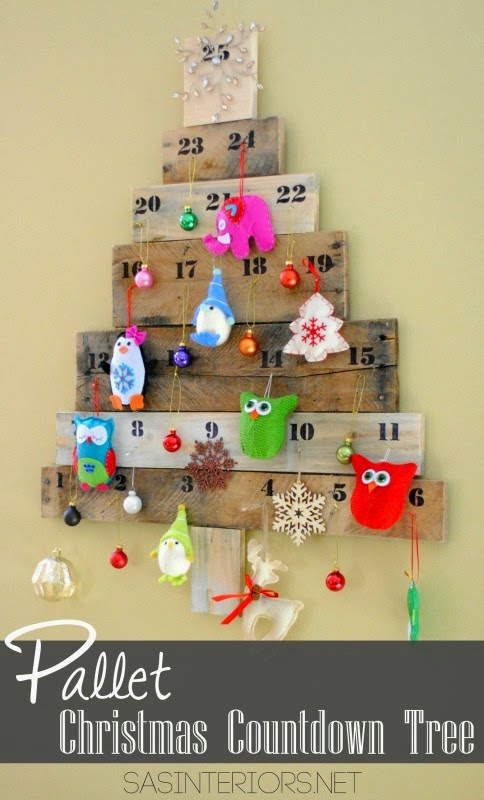 Pallet countdown tree