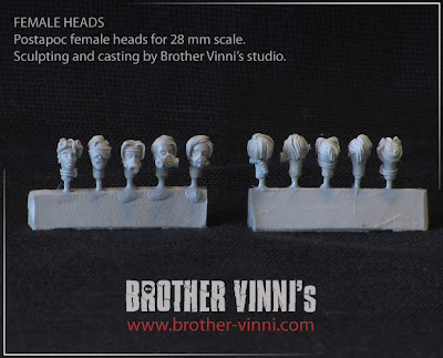 Brother Vinni: Cabezas femeninas