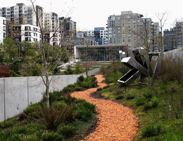 Seattle Urban Landscape Olympic Sculpture Park